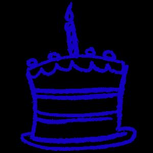 Illustration of a cake
