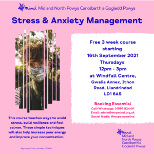 Stress & Anxiety Management Course
