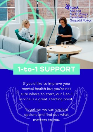 1-to-1 support leaflet cover